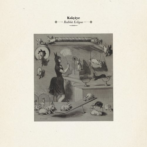 Ksiezyc - Rabbit Eclipse lp front cover